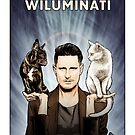 Wil Anderson WILUMINATI (Ramona and Ziggy) by James Fosdike