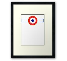 Free French Air Force Insignia Framed Print