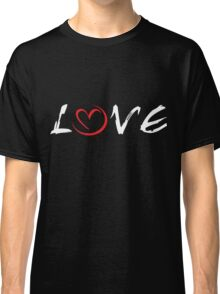 LOVE (for dark apparel) Classic T-Shirt