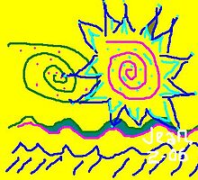 flower star by flowerstone