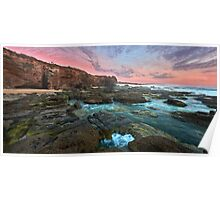 Caves Beach NSW Pano Poster