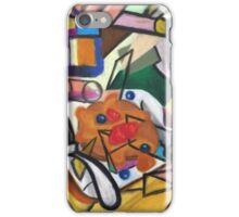 Pancake Breakfast: Picasso Style iPhone Case/Skin