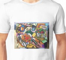 Pancake Breakfast: Picasso Style Unisex T-Shirt