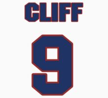 National baseball player Cliff Bolton jersey 9 by imsport