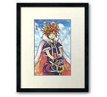 Kingdom Hearts - Sora Framed Print