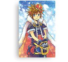 Kingdom Hearts - Sora Canvas Print