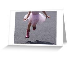 Yee-Haw Ballerina..... Greeting Card