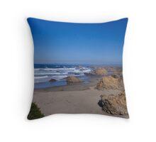 Northern Ocean Throw Pillow