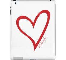 #BeARipple Original Heart Red iPad Case/Skin