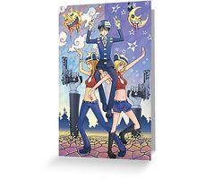 Soul Eater - Death the Kid Greeting Card