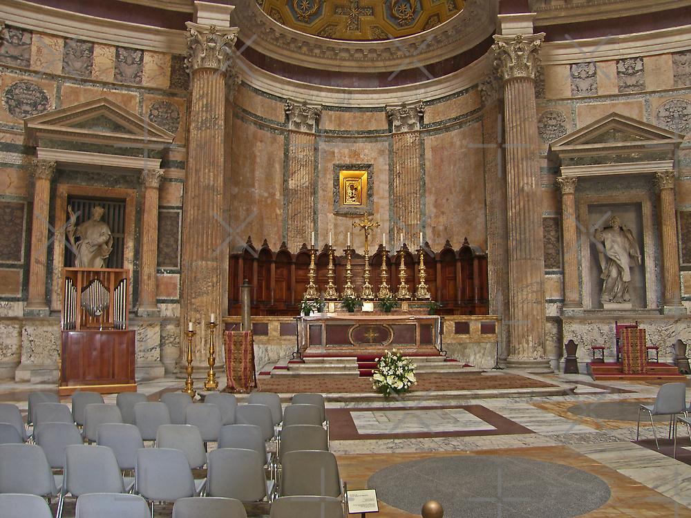 Pantheon Interior IV by Tom Gomez