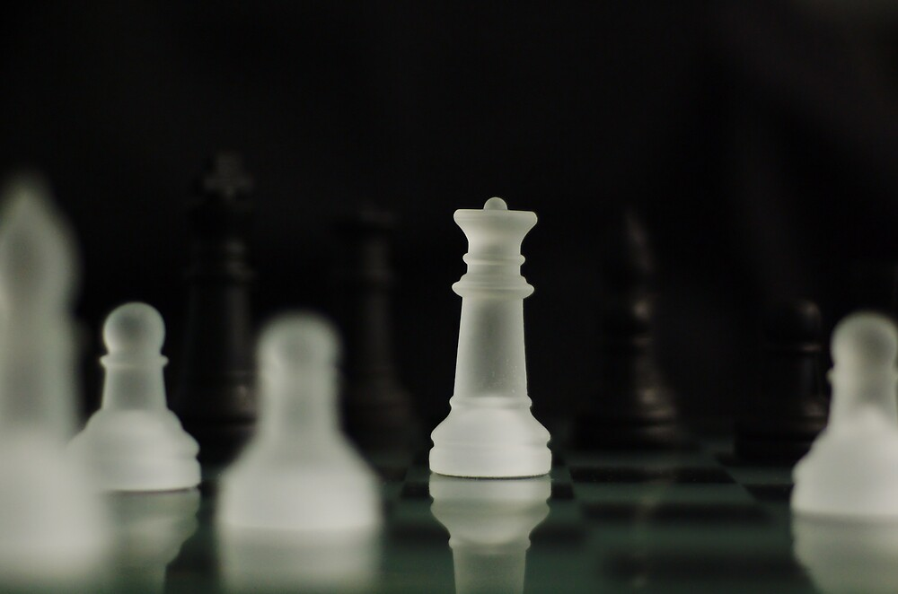 Your move! by David  Hall