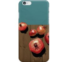 Pomegranate on the Edge iPhone Case/Skin