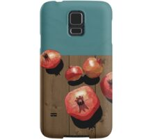 Pomegranate on the Edge Samsung Galaxy Case/Skin