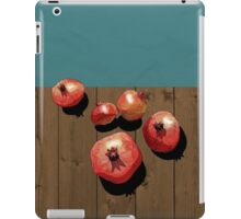 Pomegranate on the Edge iPad Case/Skin