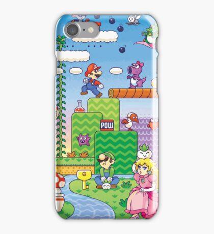 Nintendo - Mario 2 iPhone Case/Skin