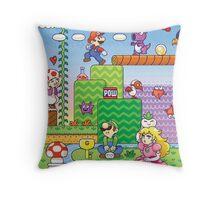 Nintendo - Mario 2 Throw Pillow
