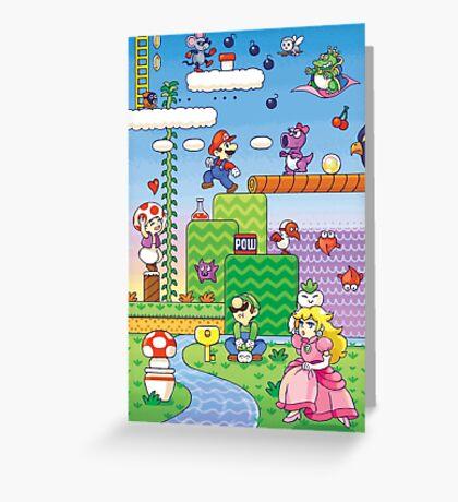 Nintendo - Mario 2 Greeting Card