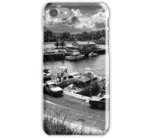 Kiama Harbour in Charcoal iPhone Case/Skin