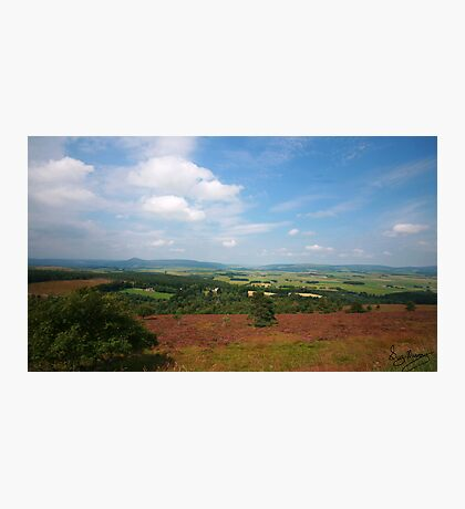 Suie Hill looking over Aberdeenshire Photographic Print