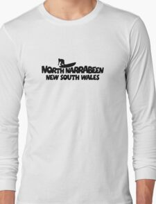 North Narrabeen Surfing Long Sleeve T-Shirt