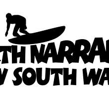 North Narrabeen Surfing by theshirtshops
