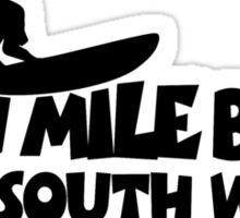 Seven Mile Beach Surfing Sticker