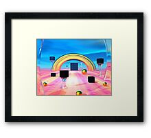 The Heat Is On Framed Print