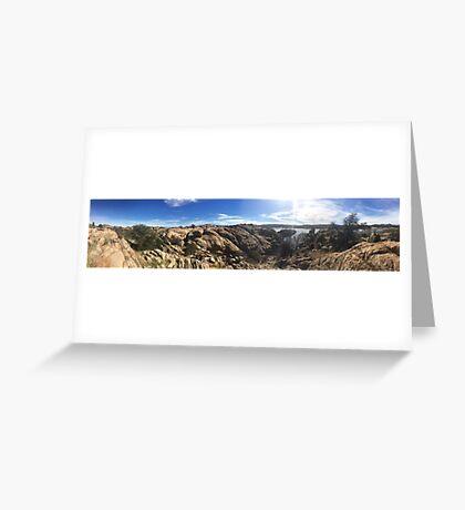 The Dells in Prescott, AZ Greeting Card