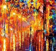 Dreaming Rain — Buy Now Link - www.etsy.com/listing/218300331 by Leonid  Afremov