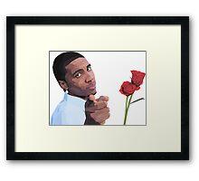Lil B 'The BasedGod' Loves You! Framed Print