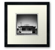 Old Weigh Bridge Building  Framed Print