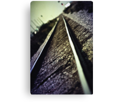 Across the Tracks Canvas Print