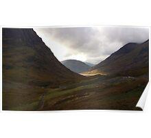 Glen Coe, Scotland Poster