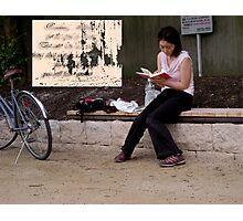Reading Photographic Print