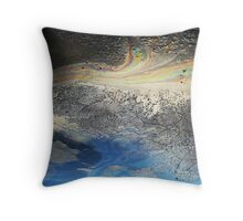 Watch Out For Slick Skies Throw Pillow