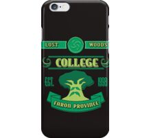 Legend of Zelda - Lost Woods College  iPhone Case/Skin