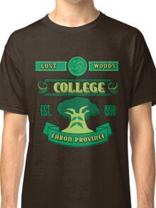 Legend of Zelda - Lost Woods College  Classic T-Shirt