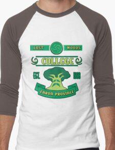 Legend of Zelda - Lost Woods College  Men's Baseball ¾ T-Shirt