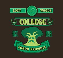 Legend of Zelda - Lost Woods College  Unisex T-Shirt