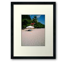 Manuel Antonio Beach, Costa Rica Framed Print