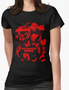 NOTLD:R Comic Montage Womens Fitted T-Shirt