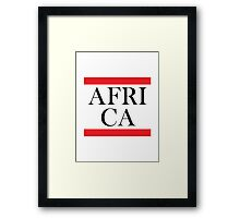 Africa Design Framed Print
