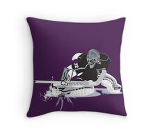 The Quickest  Throw Pillow