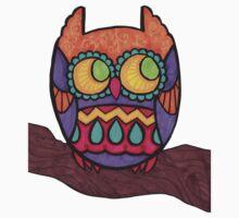 Cozy Owl One Piece - Long Sleeve