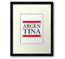 Argentina Design Framed Print