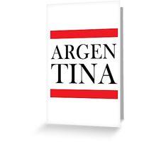 Argentina Design Greeting Card