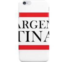 Argentina Design iPhone Case/Skin
