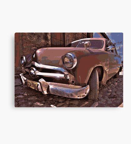 Vintage Car Canvas Print