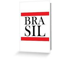 Brasil Design Greeting Card